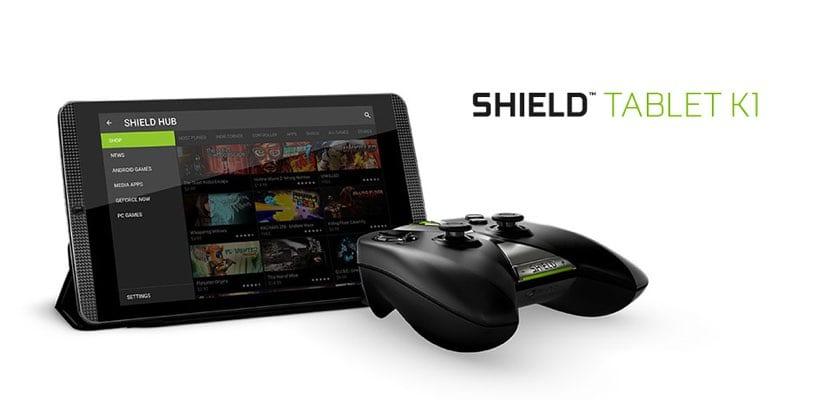 NVIDIA Shield K1 Nougat