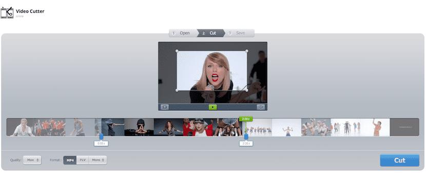 Corta tus vídeos online con Cortar video online
