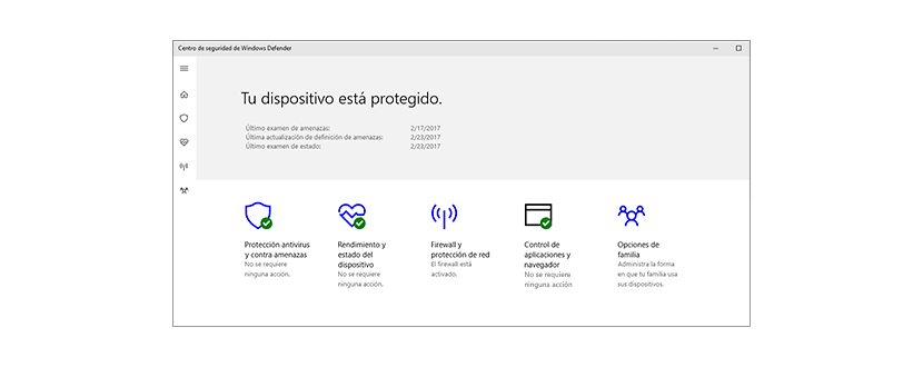 Windows Defender, el antivirus gratuito de Widows 10