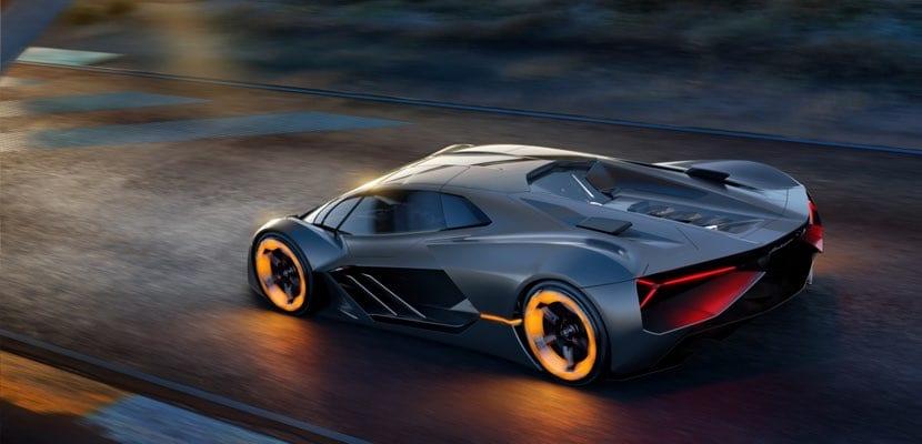 Lamborghini Terzo Millennio trasera