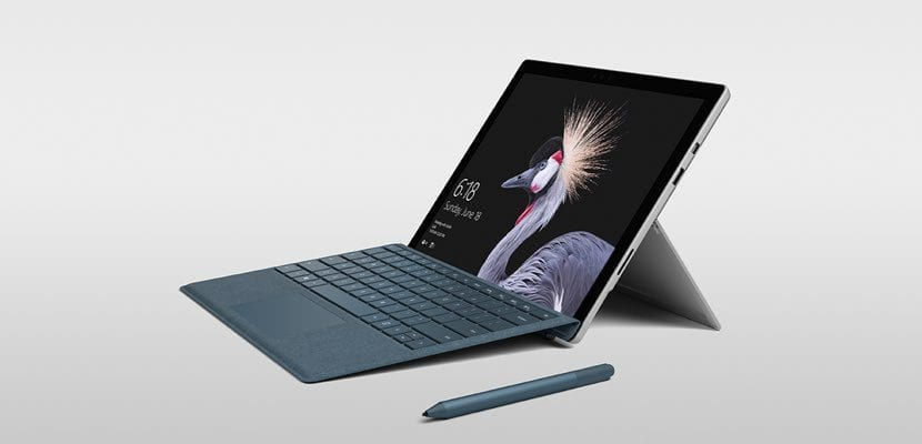 Microsoft Surface Pro LTE Advanced presentación
