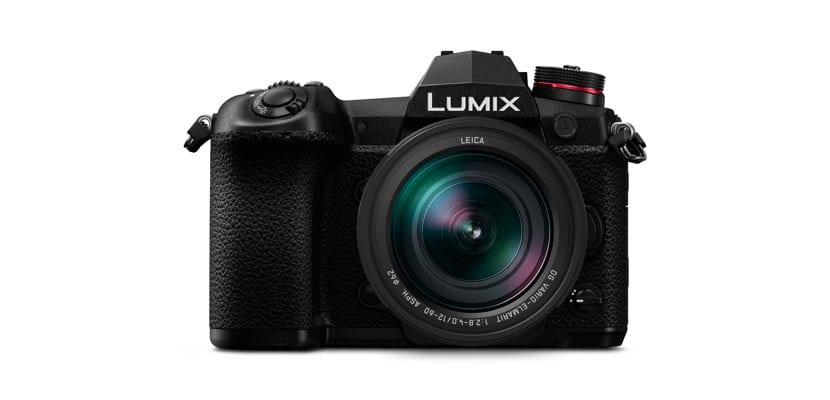 Panasonic Lumix G9 frontal