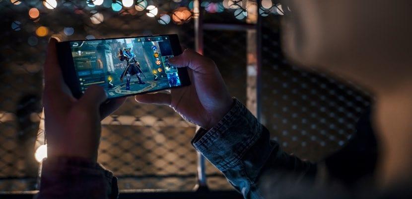 Razer Phone en funcionamiento