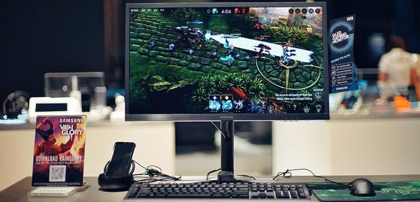 Samsung DeX Linux