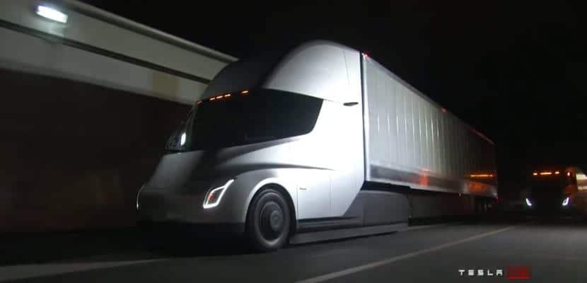 Tesla Semi camión eléctrico