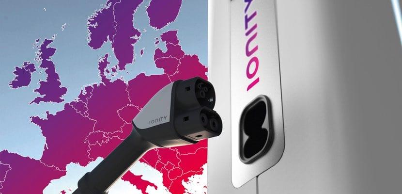 IONITY súper cargadores Europa