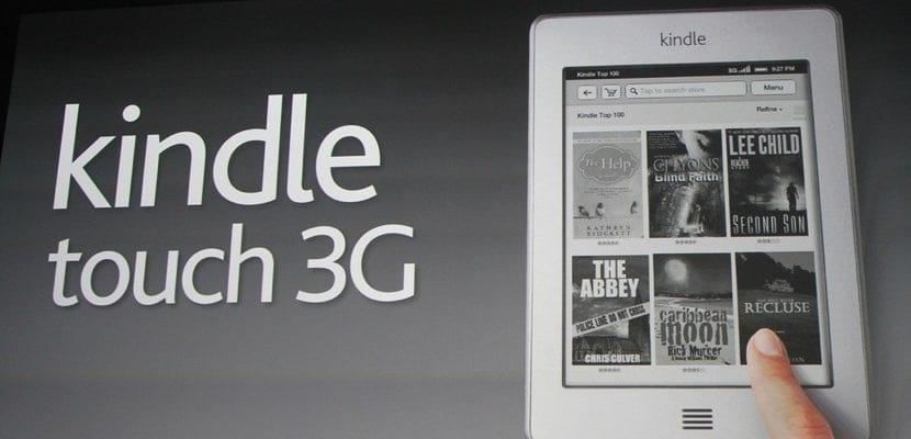 Kindle con conexión 3G