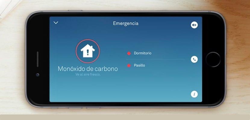 Nest Protect alertas móvil