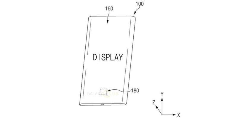 Patente de Samsung lector de huellas bajo pantalla