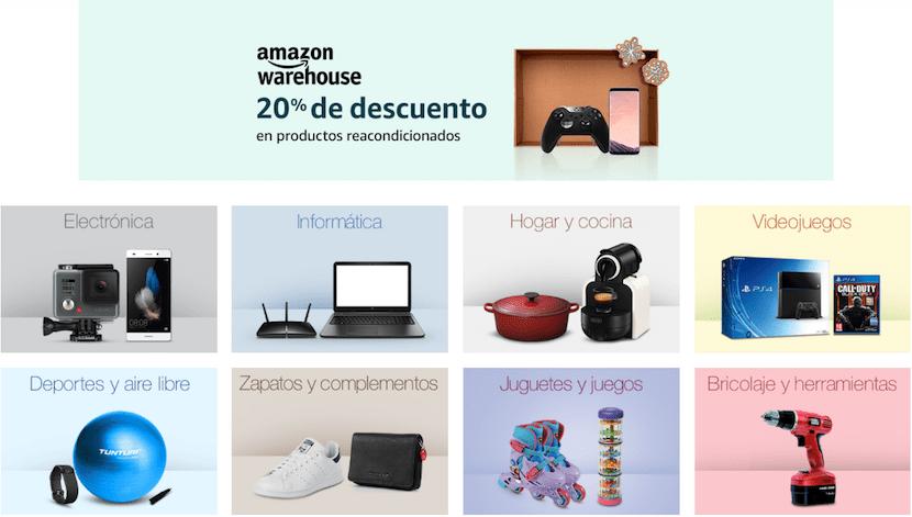 Productos reacondicionados Amazon