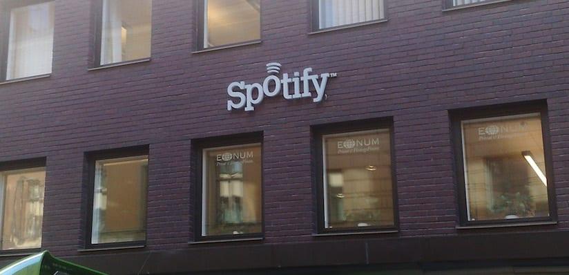 Sede de Spotify en Suecia