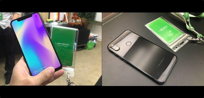 Leagoo S9 copia del iPhone X con Android