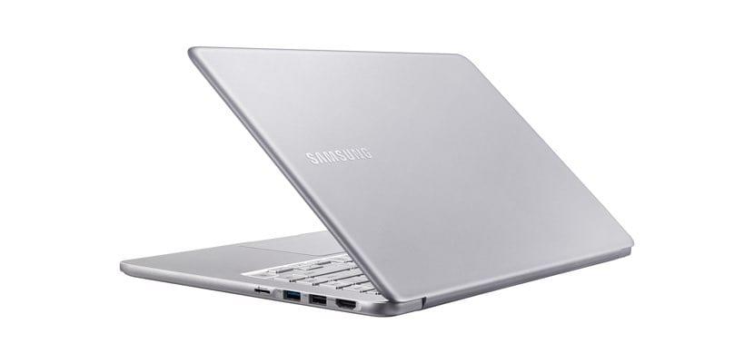 Diseño del Samsung Notebook 9 2018