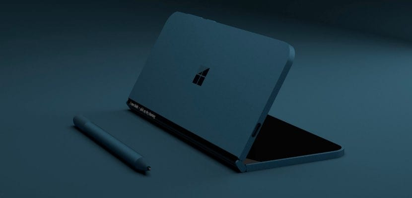 Renderizado 3D Surface Phone basado en patentes