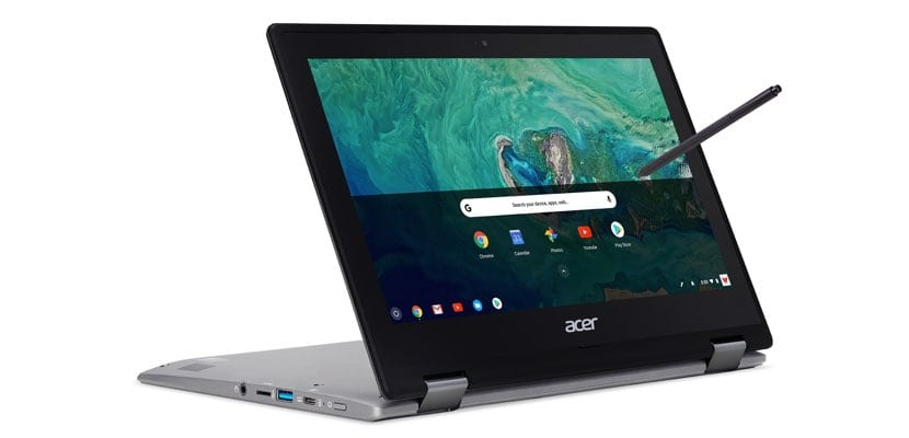 Acer Chromebook Spin 11 modo tablet