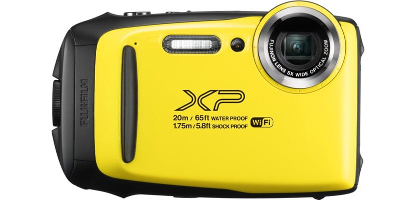 Fujifilm XP130 color amarillo