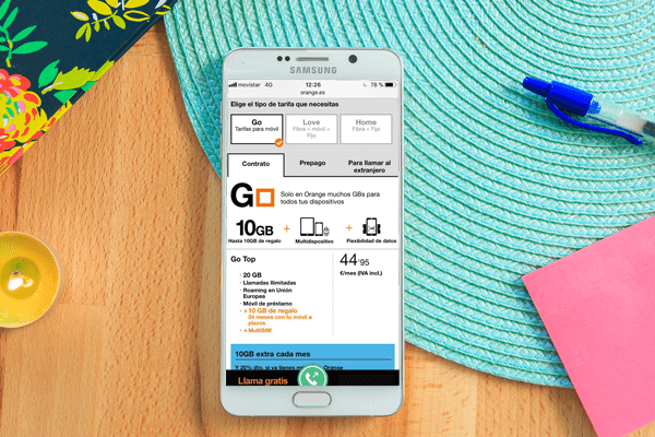 Las mejores tarifas de móvil de Orange
