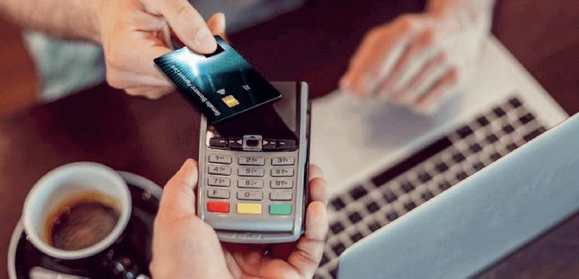 Tarjeta pagos contactless