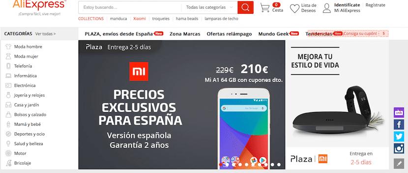 Aliexpress - tienda online de móviles baratos