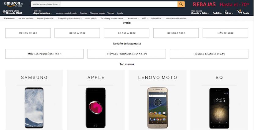 Amazon - tienda online de móviles baratos