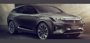 Byton SUV eléctrico concept CES 2018