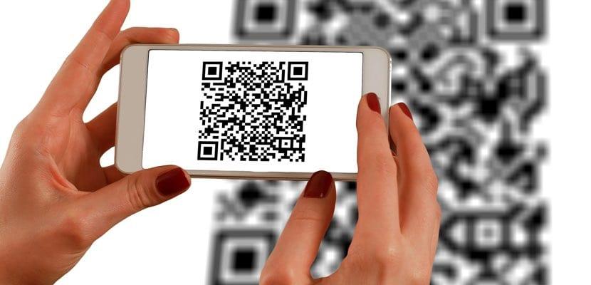 crear code QR con nuestra conexión WiFi