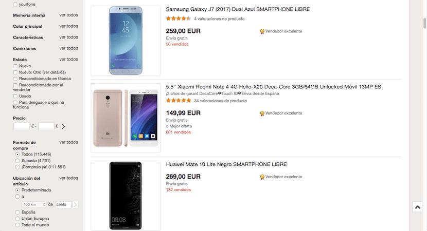 eBay - tienda online de móviles baratos
