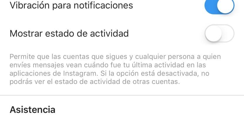 desactivar estados instagram