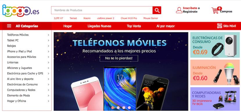 iGogo Tienda móviles online baratos