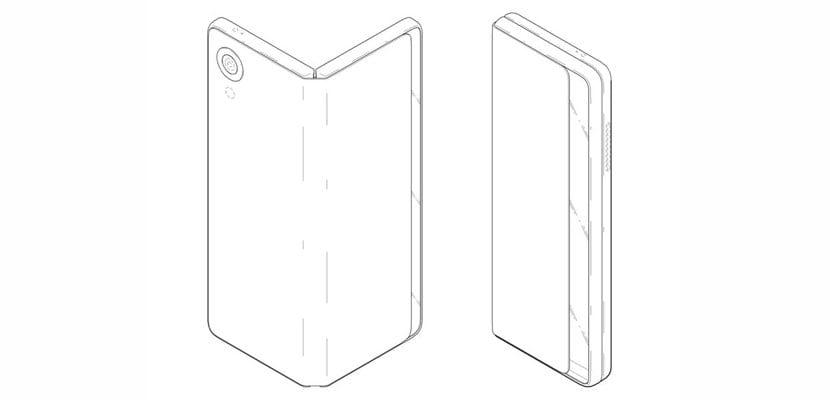 móvil plegable LG patente