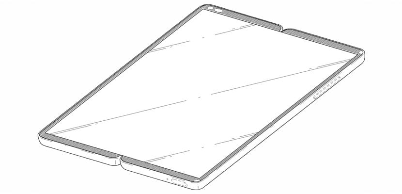 patente LG de smartphone plegable