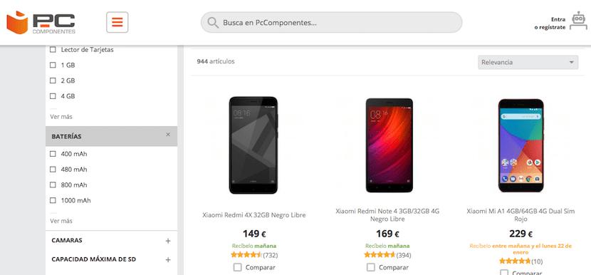 PcComponentes - tienda online de móviles baratos