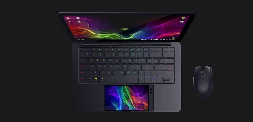 ordenador portátil Project Linda Razer CES 2018