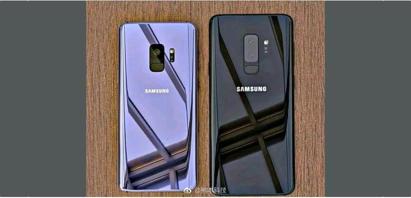 filtración diseño Samsung Galaxy S9