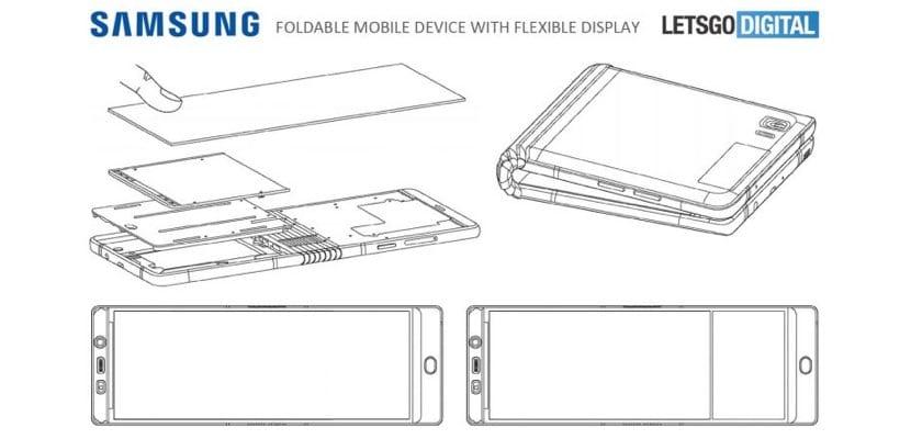 Samsung Galaxy X render mecanismo funcionamiento