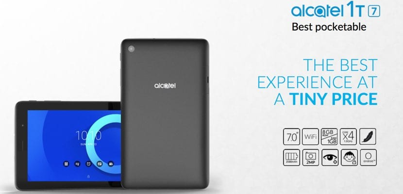 Alcatel 1T 7 tablet Android