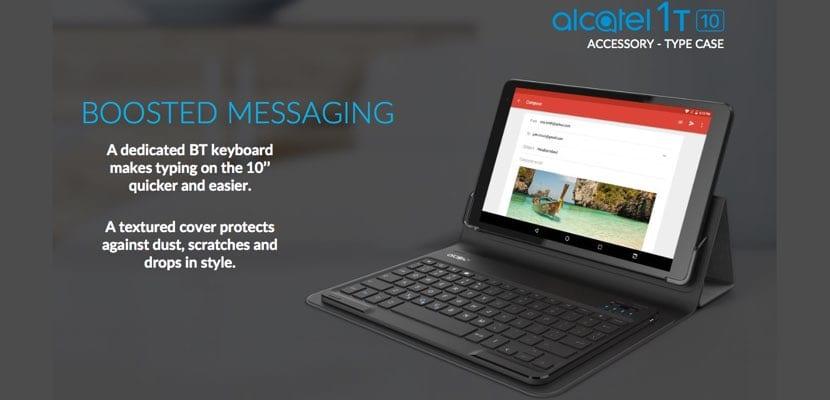 Alcatel 1T 10 teclado BT