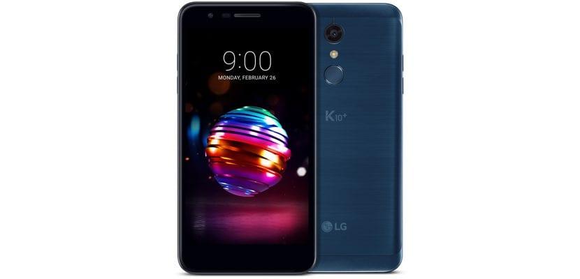 LG K10 versión 2018
