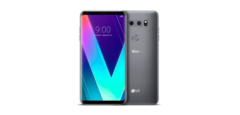 LG V30S ThinQ AI