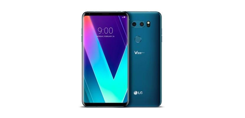 nuevos colores en el LG V30S ThinQ