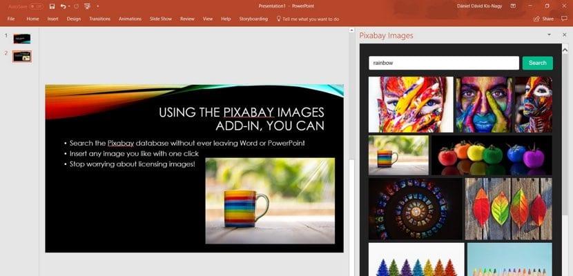Pixabay con Microsoft Office
