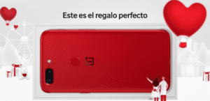 OnePlus 5T rojo