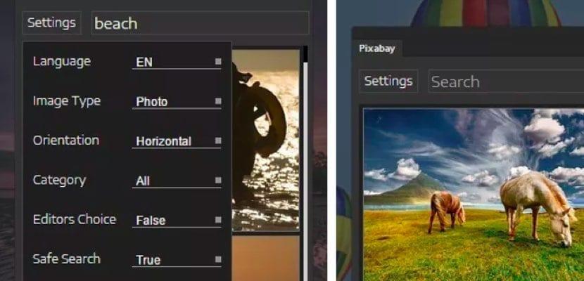 Pixabay herramienta para Photoshop de Adobe