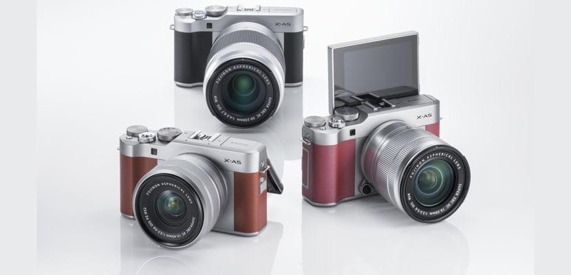 Fujifilm X-A5 colores
