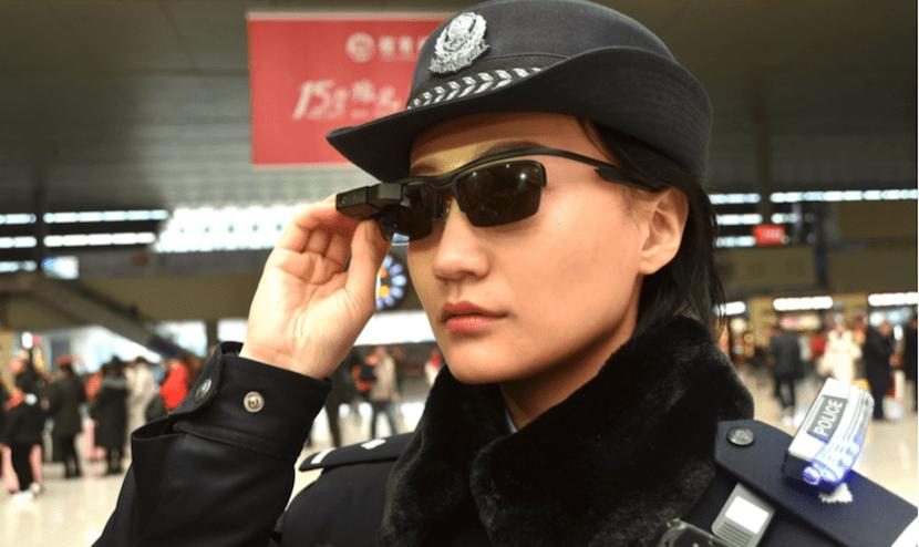 policía facial