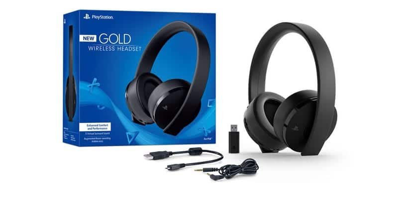 Sony Redise 241 A Por Completo Sus Ps4 Gold Auriculares