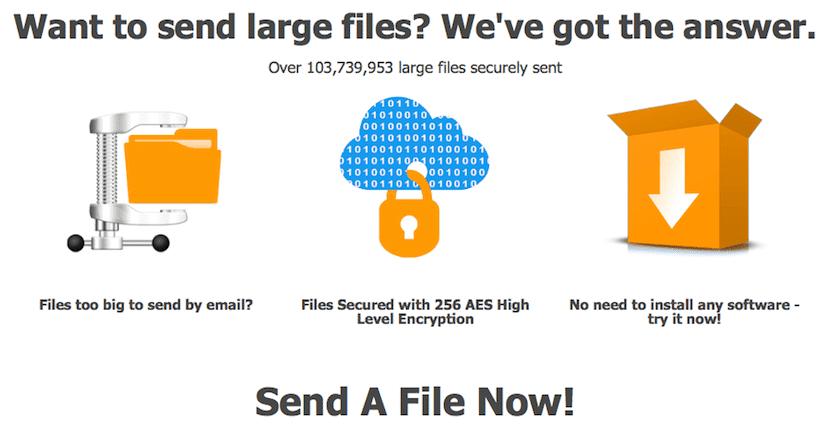 Envía archivos grandes por Internet con DropSend