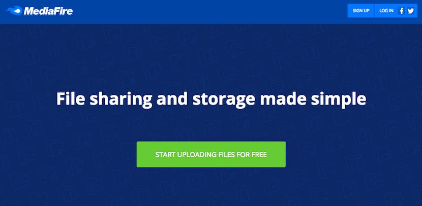 MediaFire nos permite enviar archivos grandes por Internet