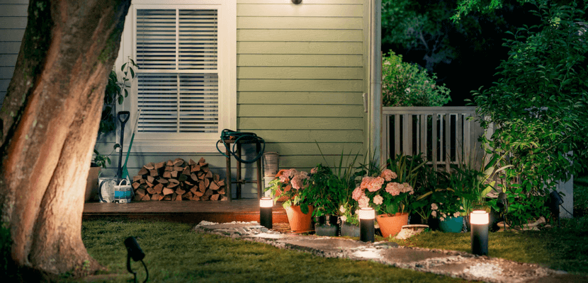 Philips Hue exterior