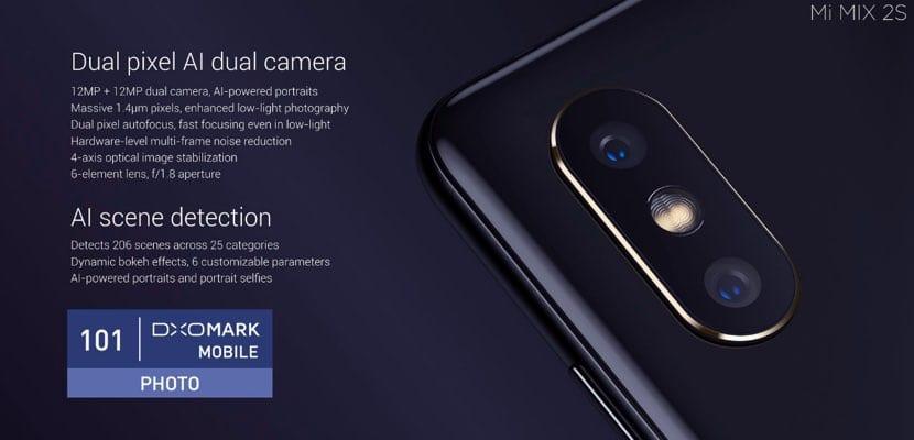 Xiaomi Mi MIX 2S cámara trasera